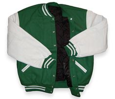 Letterman's Jackets - back in the day the girls didn't get a jacket for lettering in sports.  They lettered but had nothing to put it on.  Glad THAT has changed.