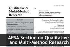 CQRM: Consortium on Qualitative Research Methods