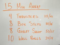 Ass kicking, sweat dripping make you question your sanity workout. Enjoy. From the Garage.