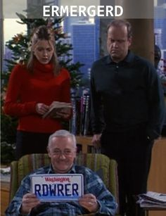 Frasier RDWRER -I love this so much!