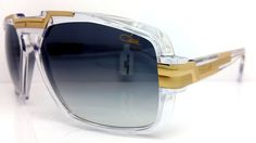 New Cazal Sunglasses 8022 002 New Release Clear CZ 8022 002 Made In Germany #cazal #Square