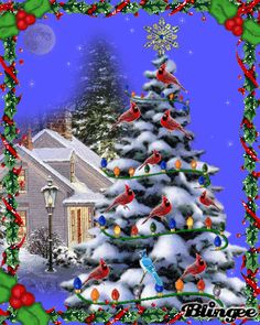 christmas animated pictures for sharing - Animated Christmas Scenes
