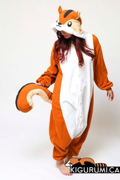Chipmunk (NOT squirrel) kigurumi