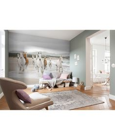 Equestrian Bedroom, Horse Themed Bedrooms, Horse Mural, Bedroom Wall, Horse Bedroom Decor, Girls Bedroom, Bedroom Ideas, Old Room, Big Girl Rooms