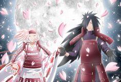 Sakura Haruno/Uchiha (C) Masashi Kishimoto Madara/Uchiha (C) Masashi Kishimoto