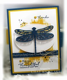 Dragonfly Dreams, Remarkable You, Floral Phrases (sentiment)