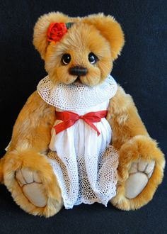 Naomi Show Piece Bear  by Donna Hager