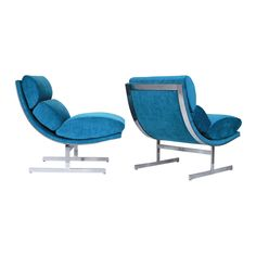 @chairishco has us feeling the turquoise blues with these beautiful, architectural #KippStewart lounge chairs. To see more of our pre-loved finds, visit: https://www.chairish.com/shop/designmilk/favorite/list?utm_source=design-milk.com-homegirls&utm_medium=bloggers&utm_campaign=jaimehg  #foundandchairished