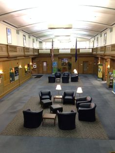 A unique meeting venue with beautiful old architecture and can cover all your high tech needs consider the College of Brockport MetroCenter. Lots of rooms for breakout meetings.