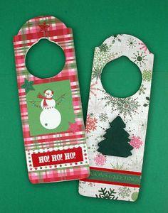 Fast and Fun Holiday Door Hangers