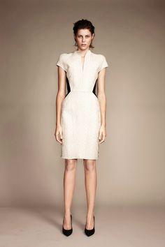The Lace Bonded Pencil Dress