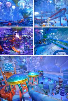 Happy Magic Watercube Waterpark in Beijing (in the National Aquatics Center from the 2008 Olympics)