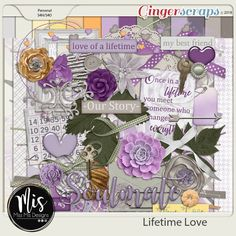 Lifetime Love {Elements} by Miss Mis Designs My Best Friend, Best Friends, Love Of A Lifetime, Meeting Someone, Cover Photos, My Love, Creative, Kit, Type 3