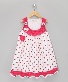 Take a look at this Violet Red Heart Jumper - Infant, Toddler & Girls by Powell Craft on #zulily today!