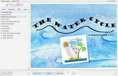 ezk12lessons.com   The Water Cycle DIGITAL lesson   use on computer, interactive whiteboard, or tablet. Used this lesson with second graders and they were completely engaged. Aligned perfectly with state standards for the Water Cycle unit.