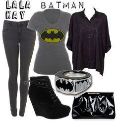 Batman casual cosplay