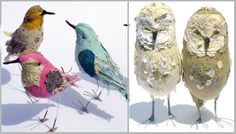 Fabric Birds by Abigail Brown_Upstate Fancy