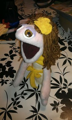 Little puppet based on the beauty,of the beauty and the beast.