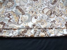 """Mudroom Bench Cushion Cover,Notched Corners,59.25""""(front) x 18.25"""" x 3"""",Use Your  Fabric,Includes Piping and Zipper.Made To Order. by CustomSewingbyCathy on Etsy"""