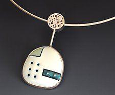 Silver & Enamel Necklace by Reiko Miyagi