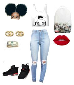 How to wear Jordans by suvareajefferson on Polyvore featuring Vibrant c804c73e1