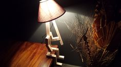Stickman bedside lamp by FSWoodworking on Etsy