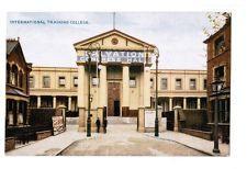 vintage Salvation Army International Training College postcard Congress Hall GB