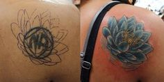 Bad Tattoos can be fixed you need to figure out the problem then have it fixed. Most bad tattoos only need re-outlining to be improved. Bad Tattoos, Cool Tattoos, Picture Tattoos, Tattoo Photos, Best Cover Up Tattoos, Tattoo Nightmares, Photo Images, Little White, Tattoo Artists