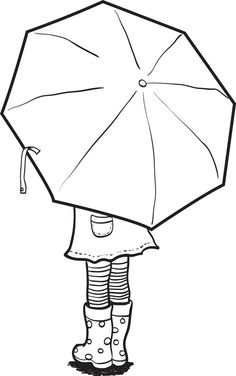 46 Ideas autumn art for kids coloring pagesBest 12 Girl Holding an Umbrella Spring Coloring Page – SkillOfKing.Arts And Crafts Wallpaper Key: art project- could do the patterns with markers, colored pencils or crayons!For over lappin Summer Coloring Pages, Coloring Book Pages, Free Kids Coloring Pages, Free Coloring, Coloring Sheets, Adult Coloring, Umbrella Coloring Page, Arte Elemental, Umbrella Art