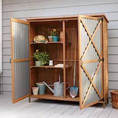 A truly grand garden tool shed - FineGardeningA truly grand garden tool shed - FineGardeningOutdoor Living Today SpaceSaver 8 ft. W x 4 ft. D Solid Wood Lean-To Tool Shed Garden Tool Shed, Garden Storage Shed, Lawn And Garden, Backyard Storage, Backyard Sheds, Outdoor Storage, Firewood Storage, Wood Shed, Wood Tools
