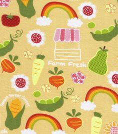 Novelty Quilt Fabric-Farmers Market & Novelty Fabric at Joann.com
