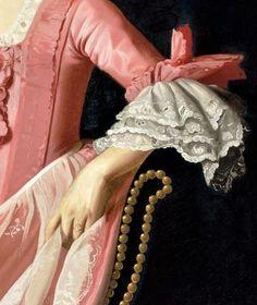 "John Singleton Copley, ""Dorothy Quincy (Mrs. John Hancock) [Detail],"" c. 1772."