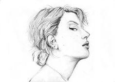 Scarlett Johansson | Drawing
