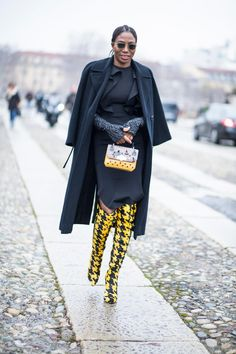 CHECK OUT MY BOARD CALLED BG STREET STYLE/BG'S HAVE STREET STYLE TOO:GERMAINE/MFW FW18/Chiara Marina Grioni FASHIONISTA