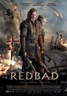 Redbad - movie poster: https://teaser-trailer.com/movie/redbad/ #Redbad #RedbadMovie #GameOfThrones #MoviePoster
