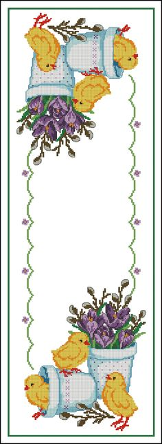 Click to close image, click and drag to move. Use arrow keys for next and previous. Cross Stitch Designs, Cross Stitch Patterns, Cross Stitching, Cross Stitch Embroidery, Easter Cross, Hand Embroidery Patterns, Cross Stitch Flowers, Needlework, Tapestry