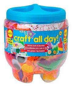 This Craft All Day Set is perfect! A great way to keep them away from electronics.