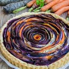 Although it takes a little while to make it, this delicious savory tart will turn into a great meal! Spiral Shape, Savory Tart, Ratatouille, Matcha, Meals, Ethnic Recipes, Desserts, Food, Pie