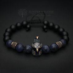 Elven Helmet Bracelet, Mens Bracelet, Elven Bracelet, Elven Jewelry, Helmet charm , Mens Jewelry, Elven Warrior Helmet by JuniperandEloise on Etsy