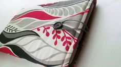 Macbook AIR 13 Laptop Ipad tablet Sleeve Protector in red, black, gray heavy cotton