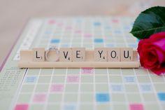 Scrabble   Engagement   Photography: Kristin La Voie