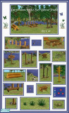 cathee's Daydreams Pond Set Bonus Pack