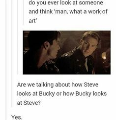 but did you see the new civil war clip?  MY SONS  #steverogers #buckybarnes #stucky #catfa
