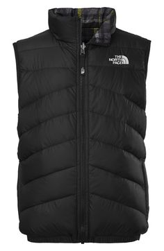 The North Face 'Perrito' Water Resistant Reversible Vest (Toddler Boys) available at #Nordstrom $65 free shipping