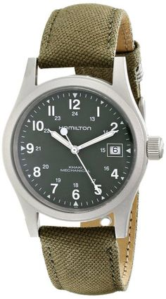 Hamilton Men's HML-H69419363 Khaki Mechanical