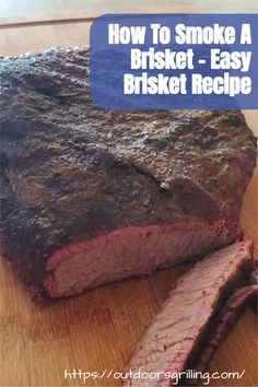 Simple but great tasting, juicy brisket recipe Brisket Flat, Smoked Beef Brisket, Smoker Recipes, Meat Recipes, Easy Brisket Recipe, Brisket Seasoning, Grilling Tips, Outdoor Cooking, Have Time