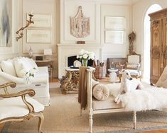 Tara Shaw Design   New Orleans, LA   Different textures and shades of white make a space feel fresh and luxurious