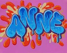 Graffiti Text, Graffiti Wall Art, Graffiti Drawing, Mural Wall Art, Graffiti Lettering, Street Art Graffiti, Name Design Art, Round Robin, 8th Grade Art