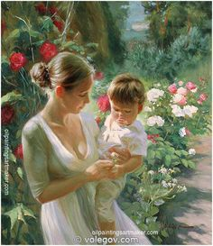 Vladimir Volegov; Born in Chabarovsk, Russia, he began painting at the age of three and his talent would be noted repeatedly throughout his adolescence. Description from pinterest.com. I searched for this on bing.com/images