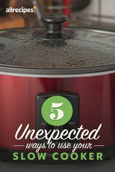 """5 Unexpected Ways to Use Your Slow Cooker 
